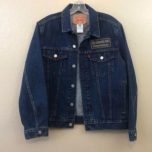 Vintage Levi's denim trucker jacket men's large